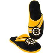 Boston Bruins Men's Team Big Logo Slippers
