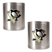 NHL Two Piece Stainless Steel Can Holder Set