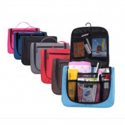 Urmiss Men Toiletry Bag Makeup Organiser Cosmetic Bag Portable Travel Kit Organiser Storage Pack Case Bathroom Storage with Hanging for Business, Vacation, Household, Travelling, Work