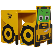 Childrens JCB Desk And Chair - Interactive Childrens Furniture -  .