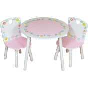 Childrens Country Cottage Table And Chairs - Interactive Childrens Furniture -  .