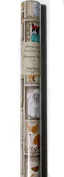 Punch Studio Heavyweight Continuous Gift Wrap Roll Wrapping Paper ~ Newsprint Dogs 62581