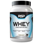 RSP Nutrition Whey Protein Powder Blends, Cookies and Cream, 0.9kg