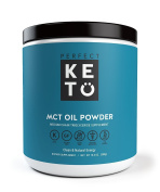 Perfect Keto MCT Oil Powder - Medium Chain Triglyceride Powder For Ketosis and Ketogenic Diets