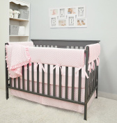 American Baby Company Heavenly Soft 6 Piece Crib Bedding Set, Pink