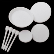 4pcs Cake Cupcake Tray Stand Flower Nails Icing Cream Sugarcraft Decorating Tool Set