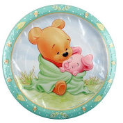 Winnie the Pooh Baby Shower Edible Icing Image 19cm round
