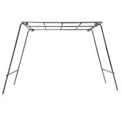 Rome Industries Pie Iron Grill Stand, 36cm x 20cm , Chrome