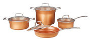 CONCORD 8 Piece Ceramic Coated -Copper- Cookware 2017 BESTSELLER