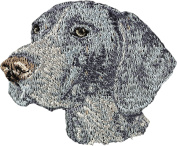German Shorthaired Pointer, Embroidery, patch with the image of a dog