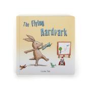 Jellycat Board Book, The Flying Aardvark, 23cm x 23cm