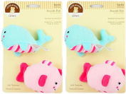 Child of Mine Seaside Pals Bath Set - Sponge & Squirter - Whale and Fish