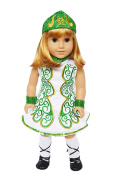 My Brittany's Green Irish Dance Outfit for American Girl Dolls