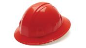 Pyramex Full Brim Style 6 Point Ratchet Suspension Hard Hat