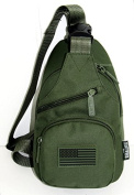 East West U.S.A RT528 Tactical Camouflage Military Sling Chest Utility Pack Bag