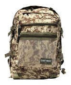 East West U.S.A BC109 Digital Camouflage Military Classic Backpack