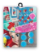 13pc Disney Ariel Little Mermaid Shower Curtain and Hooks Set
