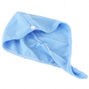 Hair Wrap Towel Drying Bath Shower Spa Head Cap Turban Twist Dry Towel
