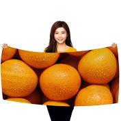 Oranges - 80cm x 150cm Microfiber Beach Towel