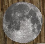 The Full Moon 150cm Round Microfiber Beach Towel