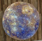 The Planet Mercury 150cm Round Microfiber Beach Towel