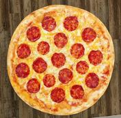 Pepperoni Pizza 150cm Round Microfiber Beach Towel