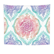 Beach Towel,OUBAO Hippie Tapestry Beach Throw Roundie Mandala Towel Yoga Mat Bohemian Featur