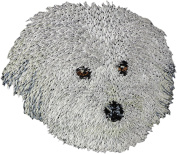 Coton de Tulear, Embroidery, patch with the image of a dog