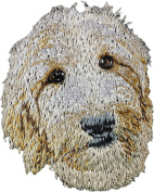 Goldendoodle, Embroidery, patch with the image of a dog