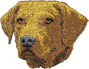Chesapeak Bay Retriever, Embroidery, patch with the image of a dog