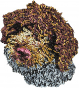 Lagotto Romagnolo, Embroidery, patch with the image of a dog
