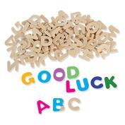 BinaryABC Set of Wooden Letter DIY Wooden Alphabet