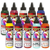 Unicorn SPiT Gel Stain & Glaze in One - 10 Paint Collection