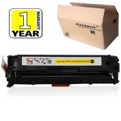 Etechwork Compatible 125A CB542A Toner Cartridge 1 Pack Yellow Replacement for Colour LaserJet CM1312NFI CM1312 MFP CP1215 CP1518NI CP1515N