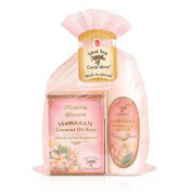 Island Soap & Candle Works Soap/Lotion Organza Gift Bags, Plumeria