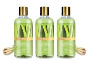 Shower Gel - Sulphate-Free - Herbal Body Wash both for Men and Women - 300 ml (10.14 fl oz) - Vaadi Herbals (Enticing Lemongrass)