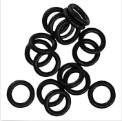 Toparchery 100pcs O-rings Specifically for Broadhead Replacement Rubber Bands Hunting Shooting Target