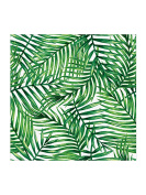 Abbott Collection Luncheon Tropical Leaves Napkins. 20 Pack