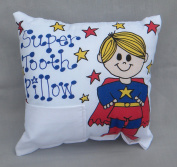 Boy Superhero Tooth Fairy Pillow with Tooth Fairy Dust