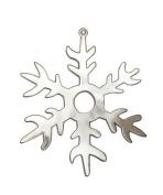 Snowflake Pendant and Tree Ornament