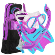 U.S. Divers Youth Flare Jr Silicone Snorkelling Set