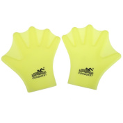 WinnerEco Swimming Webbed Gloves Hand Wear Silicon Adult Frog Finger Fin Paddle