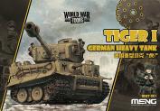 MNGWWT001 Meng World War Toons - Tiger I German Heavy Tank