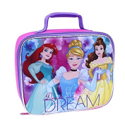 Disney (R) Princess Dare to to Dream Insulated Luch Bag Tote w/Top Carry Handle