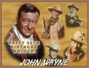 Single Source Party Supply - John Wayne Edible Icing Image #5.1cm - 20cm x 27cm by Single Source Party Supplies