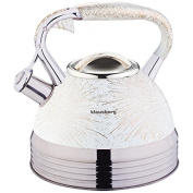 2.7 Litre Whistling Kettle 7053 Whistling Kettle Tea Pot Induction Water Jug Kettle Stainless Steel/White/