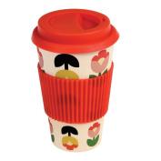 Eco Friendly Reusable Bamboo Travel Coffee Mug - Choice Of Design