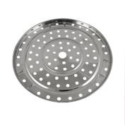 Stainless Steel Round Steamer Rack Kitchen Cooking 21.5cm