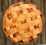 Apple Pie 150cm Round Microfiber Beach Towel
