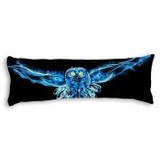 Veronicaca Night Owl Custom Cotton Body Pillow Covers Pillow Cases 50cm x 140cm